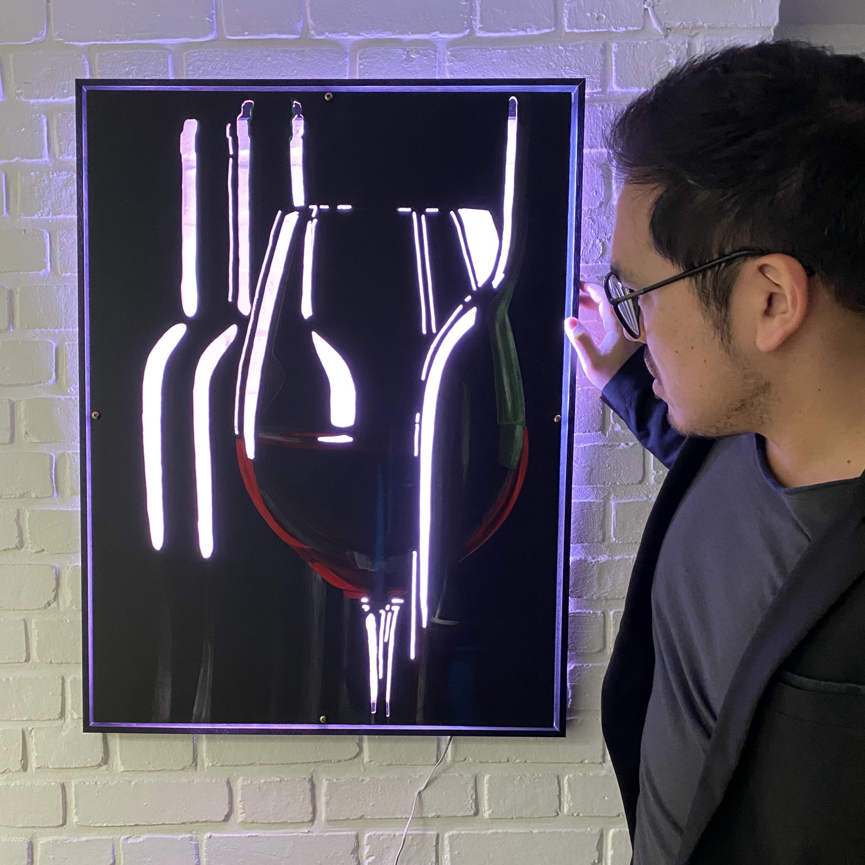 vin rouge lumiere2