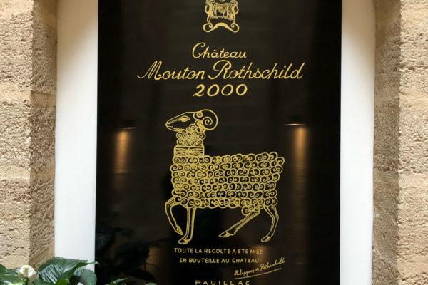 etiquette mouton 2000